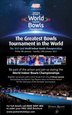 Just 2021 World Indoor Bowls Championships
